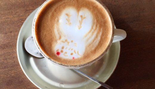 【浦和】cafe uwaito(ウワイト)の可愛すぎるラテアート
